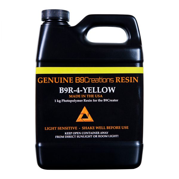 Żywica żółta odlewnicza b9 - przód