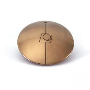 kąpiel złocenie - brązowy kolor