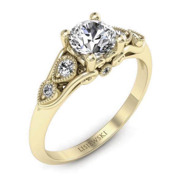 złocenie o kolorze 18kt - pierścionek