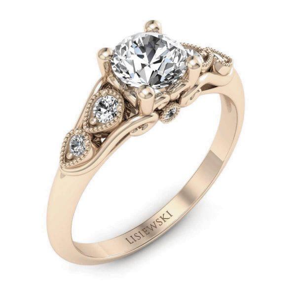 złocenie o kolorze rożowawym - pierścionek2
