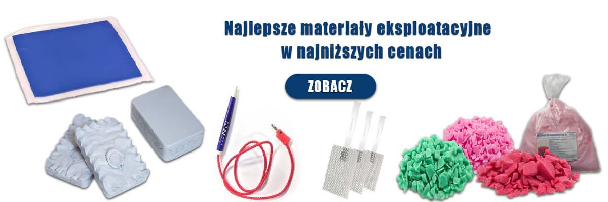 woski wtryskowe, anody tytanowe, gumy silikonowe, pisaki do rodinetki